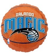 "18"" NBA Orlando Magic Basketball Balloon"