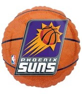 "18"" NBA Phoenix Suns Basketball Balloon"
