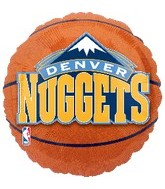 "18"" NBA Denver Nuggets Basketball"