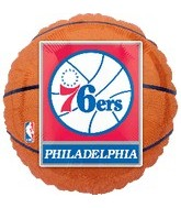 "18"" NBA Philadelphia 76ers Basketball"