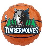 "18"" Minnesota Timberwolves Basketball"