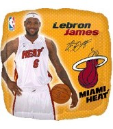 "18"" NBA LeBron James Basketball Balloon"