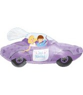 "34"" Just Married Celebration of Love Car"