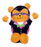 "28"" Hallooween Bear Shape Balloon"