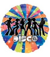 "18"" Disco Dancers Party Balloon"