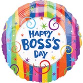 "18"" Happy Boss&#39s Day Balloons"