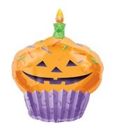"36"" Pumpkin Cupcake Super Shape"
