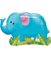 "33"" Jungle Party Elephant Balloon"
