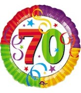 "18"" Perfection 70 Mylar Party Balloon"