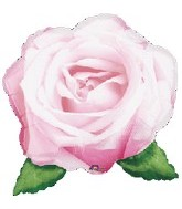 "27"" Love in Bloom Pink Rose Balloon"