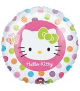 "18"" Hello Kitty Balloons Border"
