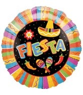 "18"" Fiesta Fun Party Balloon"
