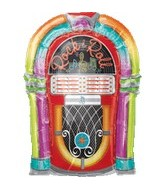 "29"" Jumbo Rock-n-Roll Jukebox Balloon"