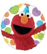 "18"" Sesame Street Elmo Happy Birthday"