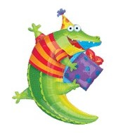 "36"" Leap Frog Friends Alligator Balloon"