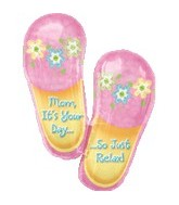 "33"" Relax Mom It&#39s You Day Flip[ Flops"