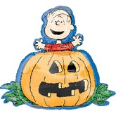 "28"" Peanuts Great Pumpkin Shape"