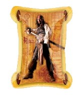"34"" Pirates of the Caribbean Jack"