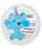 "18"" Happy Birthday Blues Clues"