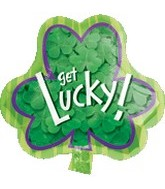 "18"" St. Patricks Day Get Lucky Balloon"