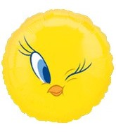 "18"" Looney Tunes Tweety Mylar Balloon"