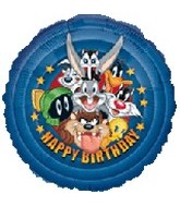 "18"" Looney Tunes Group Birthday Balloon"
