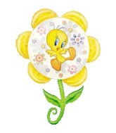 "33"" Tweety Flower"
