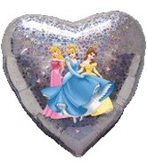 "18"" Disney Princesses Love Holographic"