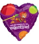 "18"" Outta This World For You Valentine"