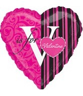 "18"" V is for Valentine"