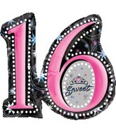 "28"" Jumbo Sweet Sixteen Balloon"