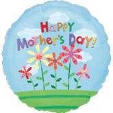 "18"" Happy Mother&#39s Day Flower Balloon"