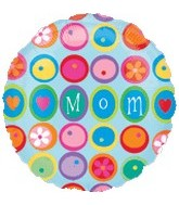"32"" Mom Balloon Many Flowers"