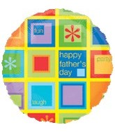 "18"" Happy Father&#39s Day Fun Party Laugh"