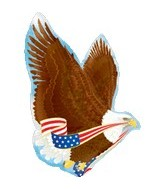 "31"" Patriotic Eagle Balloon"