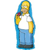 Jumbo Simpsons Mylar Balloon