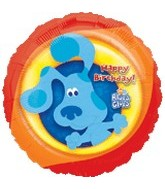"18"" Blues Clues Birthday Mylar Balloon"