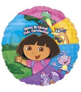 "18"" Dora the Explorer & Friends Birthday"