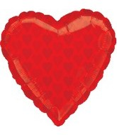 "18"" Red Heart SuperShape Balloon"