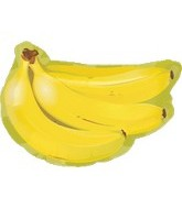 "18"" Super Shape Fruit Bananas Balloon"