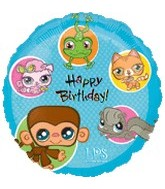"18"" Littlest Pet Shop Happy Birthday"