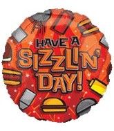 "18"" Have a Sizzling Day"