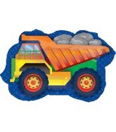 "28"" Large Dump Truck Balloon"