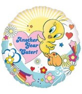 "18"" Looney Tunes Tweety Another Year Cuter"