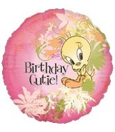 "18"" Looney Tunes Tweety Cute Birthday"