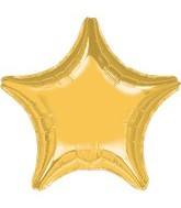 "32"" Large Balloon Gold Star"