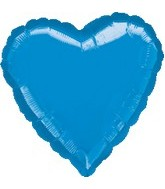 "32"" Large Balloon Blue Heart"