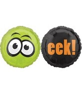 "18"" Eyes and eek Halloween Balloon"