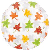 "18"" See-Thru Leaves Falling Balloon"