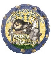 "18"" Where the Wilds Things Are Birthday Balloon"